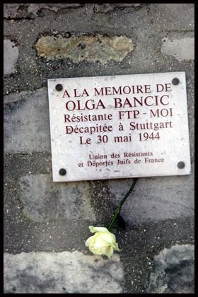 Le carré des fusillés au cimetière d'Ivry