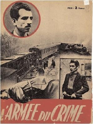 affiche rouge,manouchian,ftp-moi,olga  bancic,marcel rajman,21 février 1944,résistance,joseph epstein,alfonso,arpen tavitian,mont valérien